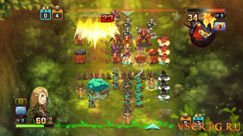 Might and Magic: Clash of Heroes screen 1