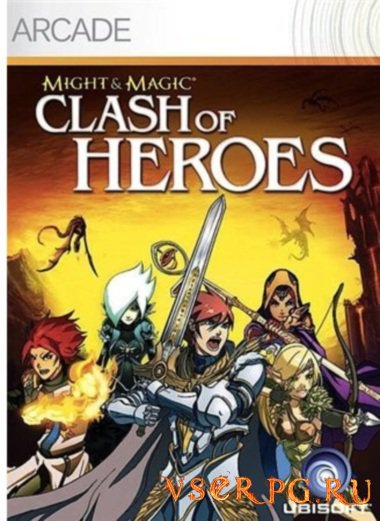 Постер игры Might and Magic: Clash of Heroes