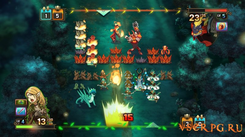 Might and Magic: Clash of Heroes screen 3