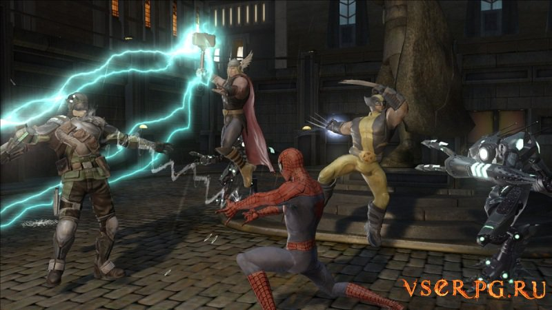 Marvel Ultimate Alliance 2 Xbox 360 screen 3