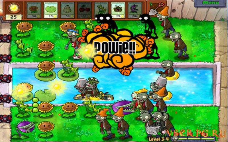 Зомби против растений screen 1