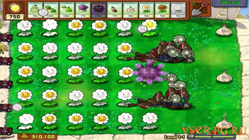 Plants vs Zombies screen 2