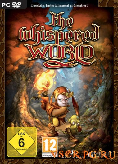 Постер игры The Whispered World