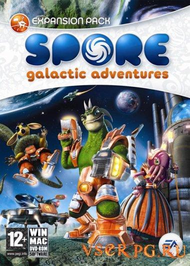 Постер игры Spore: Galactic Adventures