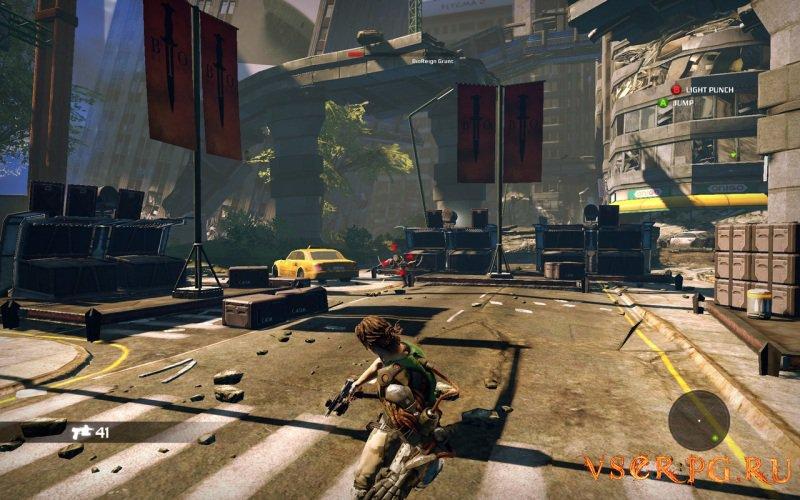 Bionic Commando screen 3