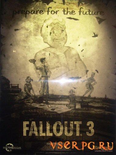 Постер игры Fallout 3 The Pitt