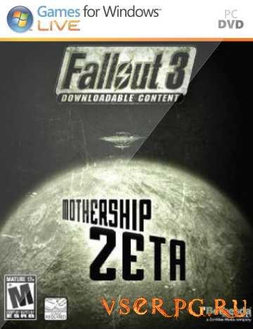 Постер игры Fallout 3: Mothership Zeta