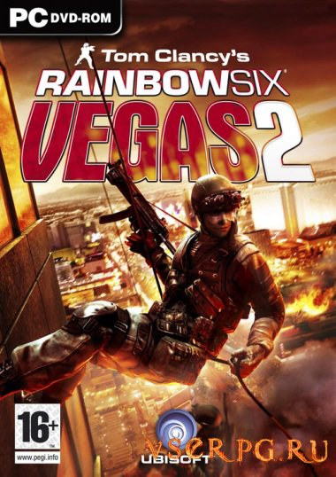 Постер игры Tom Clancys Rainbow Six Vegas 2