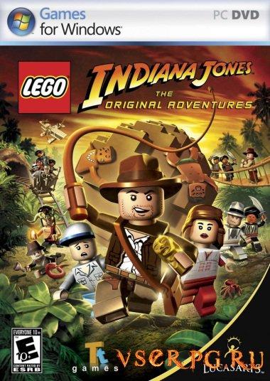 Постер игры LEGO Indiana Jones