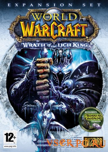 Постер игры World of Warcraft: Wrath of the Lich King
