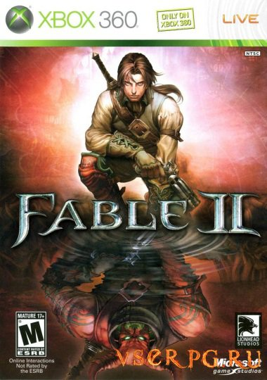 Постер игры Fable 2