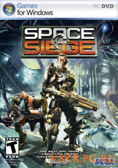 Постер игры Space Siege