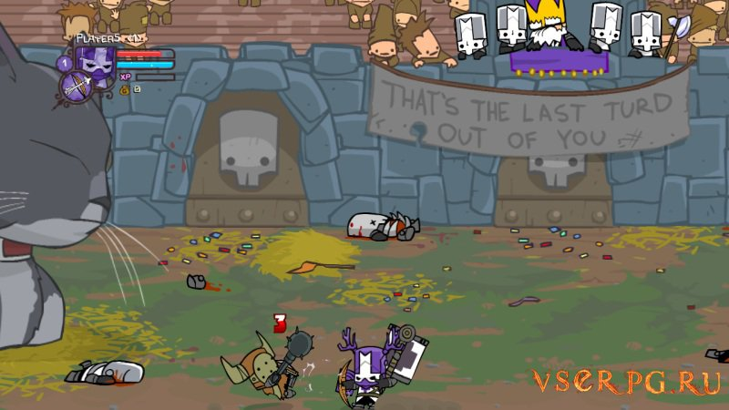 Castle Crashers screen 1