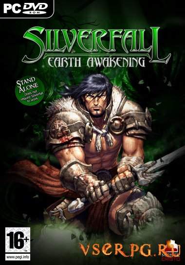 Постер игры Silverfall: Earth Awakening