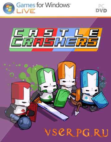 Постер игры Castle Crashers