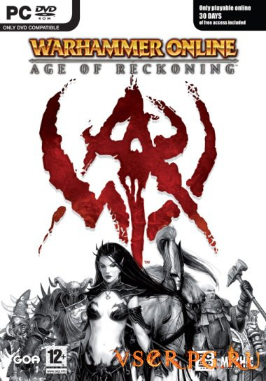 Постер игры Warhammer Online: Age of Reckoning