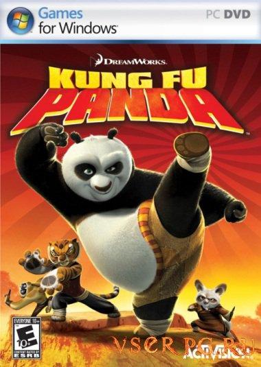 Постер игры Кунг-фу Панда