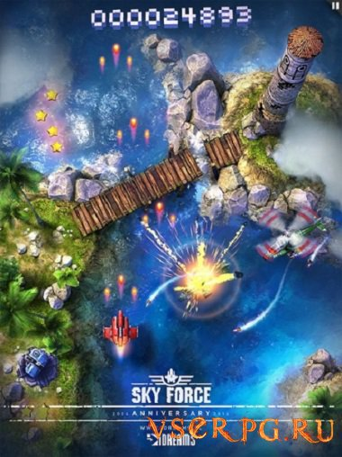 Постер игры Sky Force Anniversary