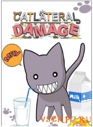 Постер игры Catlateral Damage