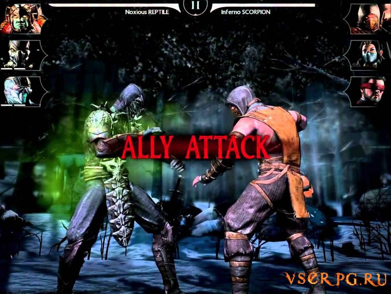 Mortal Kombat X [Android] screen 1