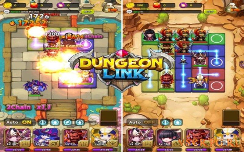 Dungeon Link screen 2