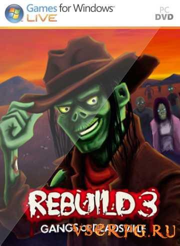 Постер игры Rebuild 3 Gangs of Deadsville