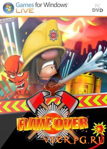 Постер игры Flame Over