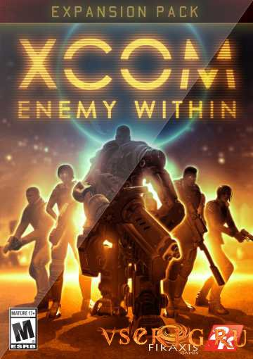 Постер игры XCOM Enemy Within