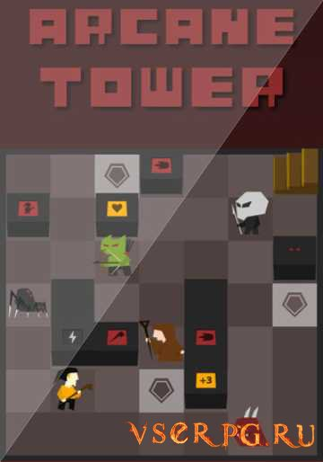 Постер игры Arcane Tower