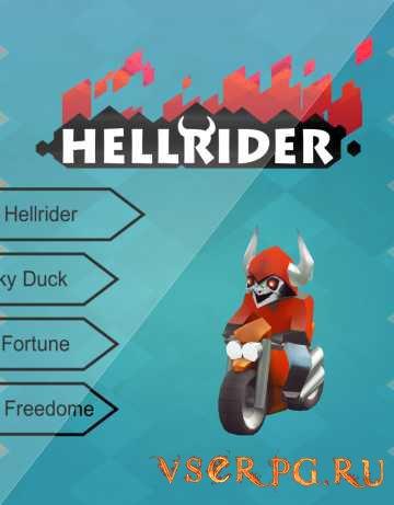 Постер игры Hellrider