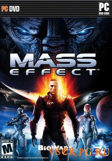Постер игры Mass Effect 1