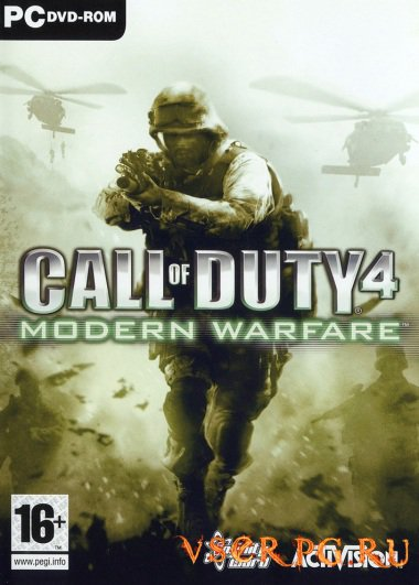 Постер игры Call of Duty 4: Modern Warfare
