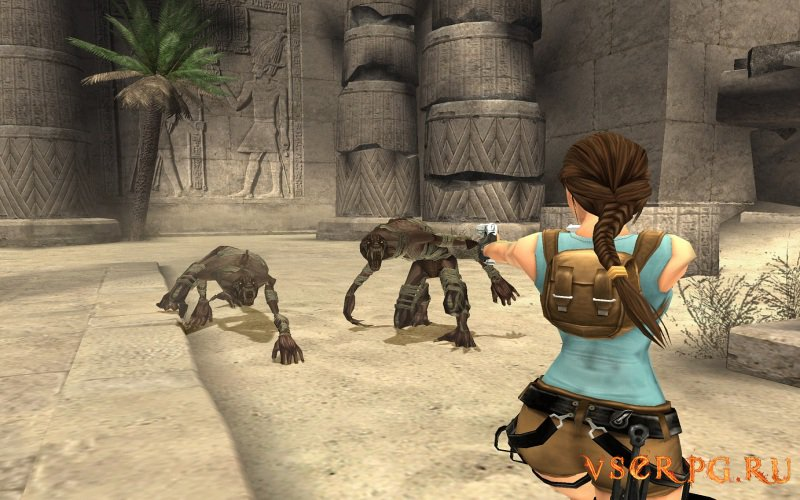 Tomb Raider Anniversary screen 1