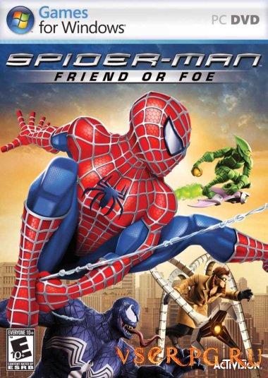 Постер игры Spider-Man: Friend or Foe