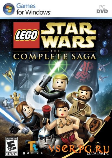 Постер игры LEGO Star Wars: The Complete Saga