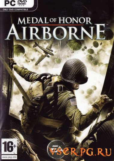 Постер игры Medal of Honor Airborne