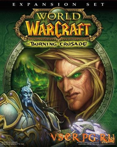 Постер World of Warcraft The Burning Crusade