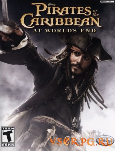 Постер игры Pirates of the Caribbean At Worlds End