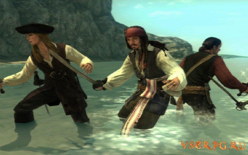 Пираты Карибского Моря на краю света screen 2