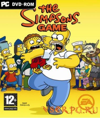 Постер игры Симпсоны
