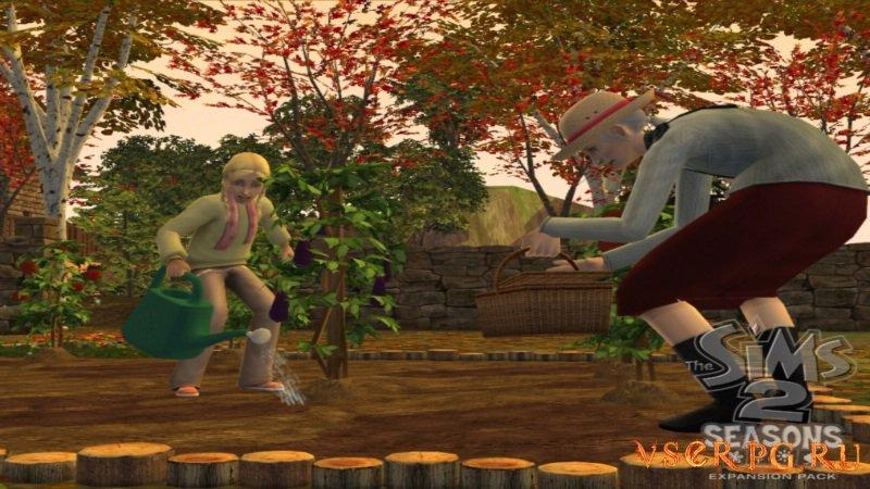 Sims 2: Времена года screen 3