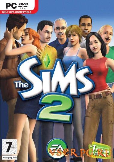 Постер игры Sims 2: Времена года