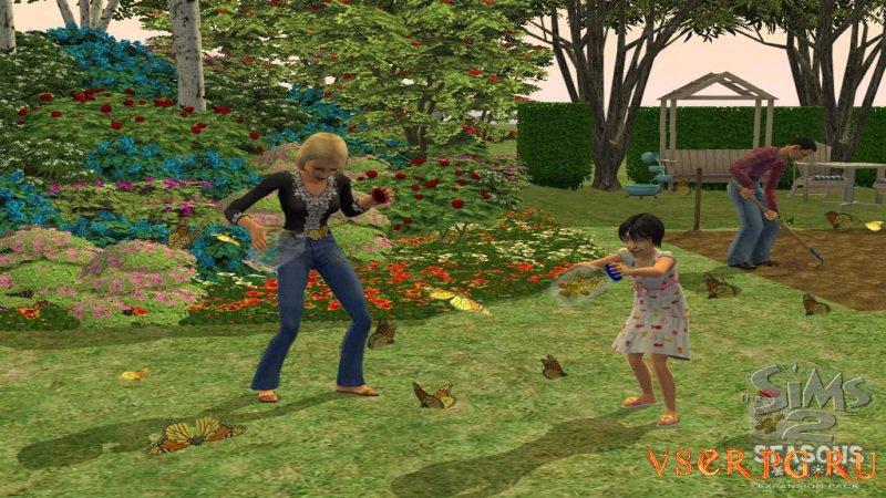Sims 2: Времена года screen 2