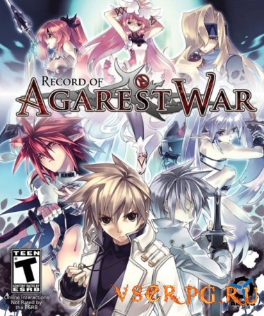 Постер игры Agarest Generations of War