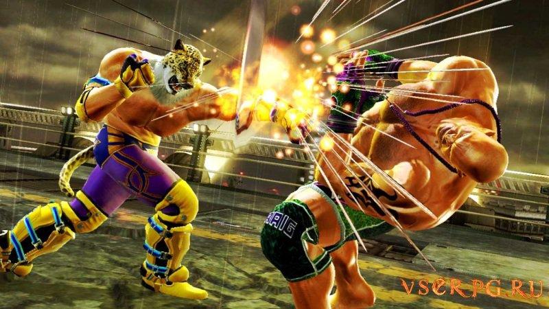 Tekken 6 screen 1