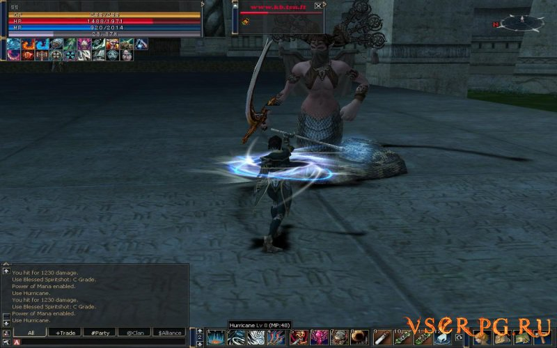 Lineage 2 C4 screen 2