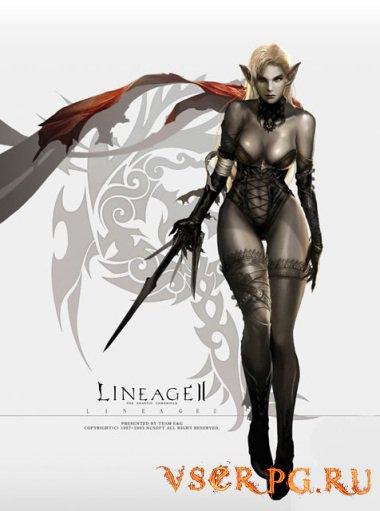 Постер игры Lineage 2