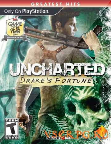 Постер игры Uncharted Drakes Fortune