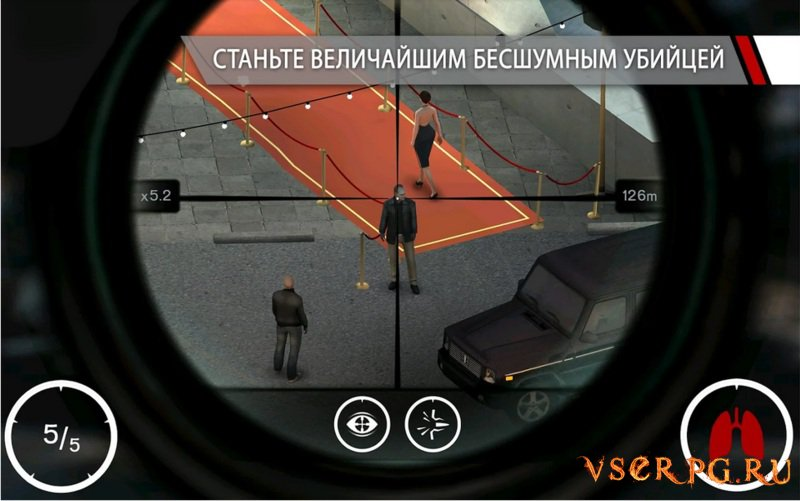 Hitman Sniper [Android] screen 2