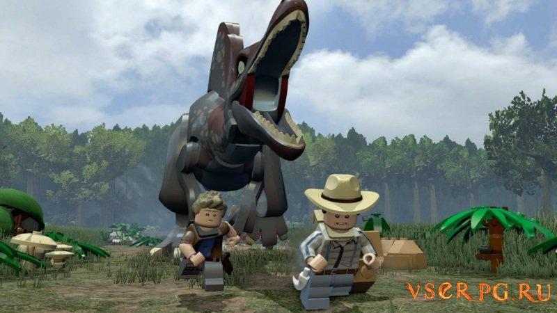 Лего Мир Юрского периода screen 1